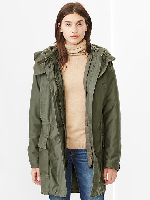 Olive Parka Jacket | Jackets Review
