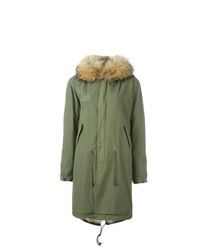 Mr & Mrs Italy Raccoon And Coyote Fur Lined Parka