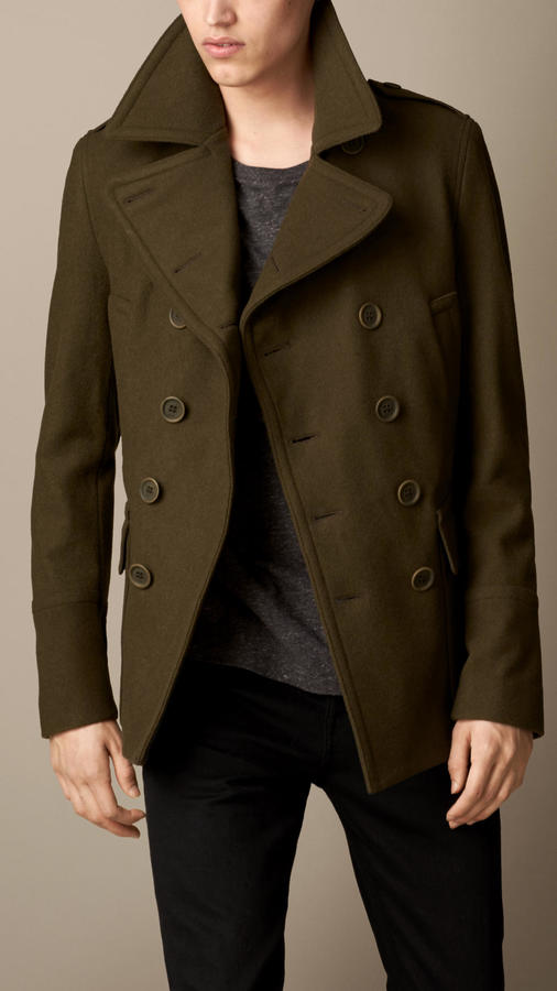 Burberry Wool Cashmere Pea Coat   Where to buy & how to wear