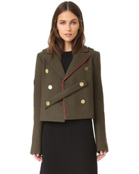 Cropped pea coat medium 740656