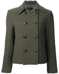 Short double breasted coat medium 847224