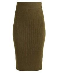 Vero Moda Vmhermosa Pencil Skirt Dark Olivemelange