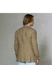Polo Ralph Lauren Olive Checked Sport Coat