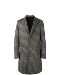 Neil Barrett Single Breasted Fitted Coat