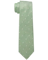 Olive Polka Dot Tie