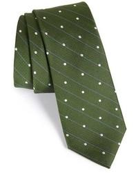 Dot silk tie medium 455407