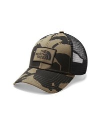 Olive Print Baseball Cap