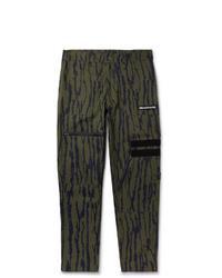 Billionaire Boys Club Printed Cotton Blend Cargo Trousers