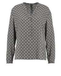 Betty & Co Blouse Blacktaupe