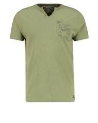 Print t shirt loden green medium 4204535