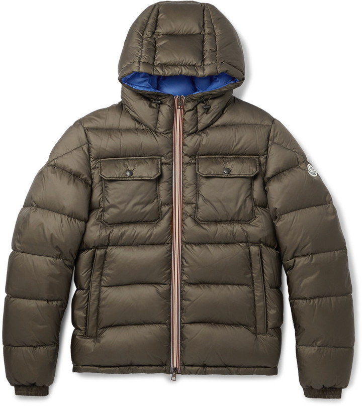 ... Moncler Morane Quilted Shell Hooded Down Jacket ...