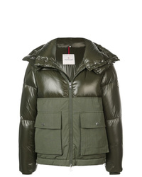 4737b34665c8 Men s Olive Puffer Jackets by Moncler