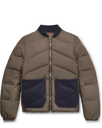 The Workers Club Reversible Quilted Shell Down Jacket