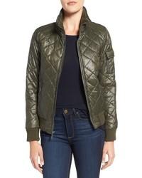 Quilted bomber jacket medium 952127