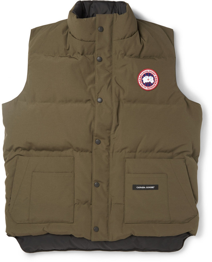 canada goose quilted gilet