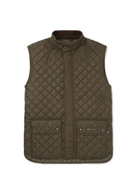 Belstaff Slim Fit Quilted Shell Gilet