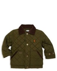 Olive Quilted Jacket