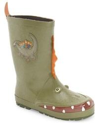 Kidorable Dinosaur Waterproof Rain Boot