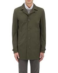 Olive Raincoat