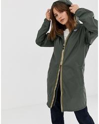 K-Way Eiffel Longline Waterproof Jacket