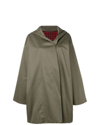 Daniela Gregis Hooded Trench Coat