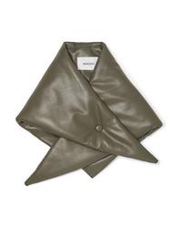 Nanushka Vegan Leather Scarf