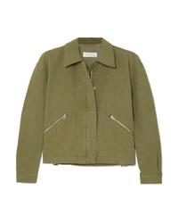 Olive Shirt Jacket