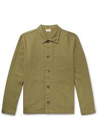 Armor Lux Cotton Canvas Chore Jacket
