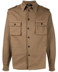 N°21 N21 Button Down Military Shirt