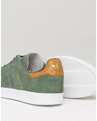 350 Sneakers In Trace Green Bb5292