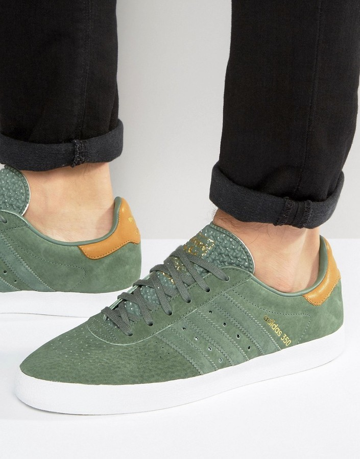 pick up 6a1bc 09906 ... adidas Originals 350 Sneakers In Trace Green Bb5292 ...