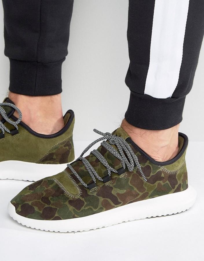 buy online 10340 5effe ... adidas Originals Tubular Shadow Sneakers In Green Bb8818 ...
