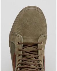 vans sk8-hi mte dx sneakers in green va3498lr4