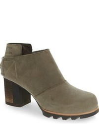 Olive Snow Boots