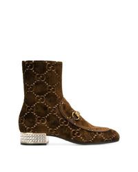 Gucci Gg Supreme Boots