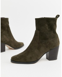 ASOS DESIGN Rodeo Western Ankle Boot