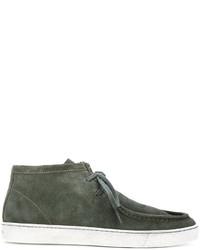 Santoni Hi Top Boat Shoes