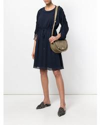 62c46ac3bb See by Chloe See By Chlo Medium Kriss Shoulder Bag, £388 | farfetch ...