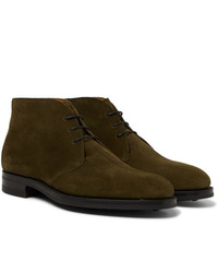Edward Green Banbury Suede Desert Boots