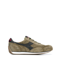 Diadora Panelled Lace Up Sneakers