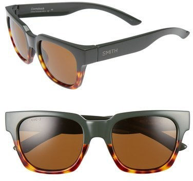 919fd18f9f ... Smith Comstock 52mm Polarized Sunglasses Olive Tortoise ...