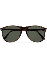 Persol D Frame Tortoiseshell Acetate Polarised Sunglasses
