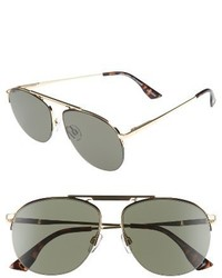 Le Specs Liberation 57mm Aviator Sunglasses