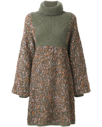 Chloé Cocoon Sweater Dress