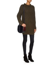 b66fd43ea Nlst Fisherman Ribbed Knit Sweater Dress