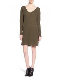 Leith V Neck Sweater Dress