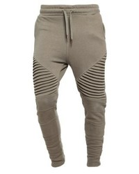 Tracksuit bottoms olive medium 3839762