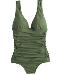 J.Crew Ruched Femme One Piece Swimsuit