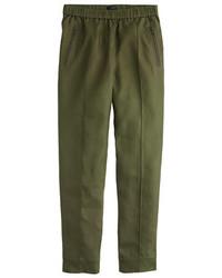 J.Crew Linen Pull On Pant