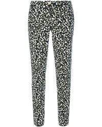 MICHAEL Michael Kors Michl Michl Kors Patterned Tapered Trousers